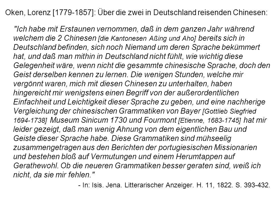 Namen - 1 Überseechinesen / Auslandschinesen = chines.