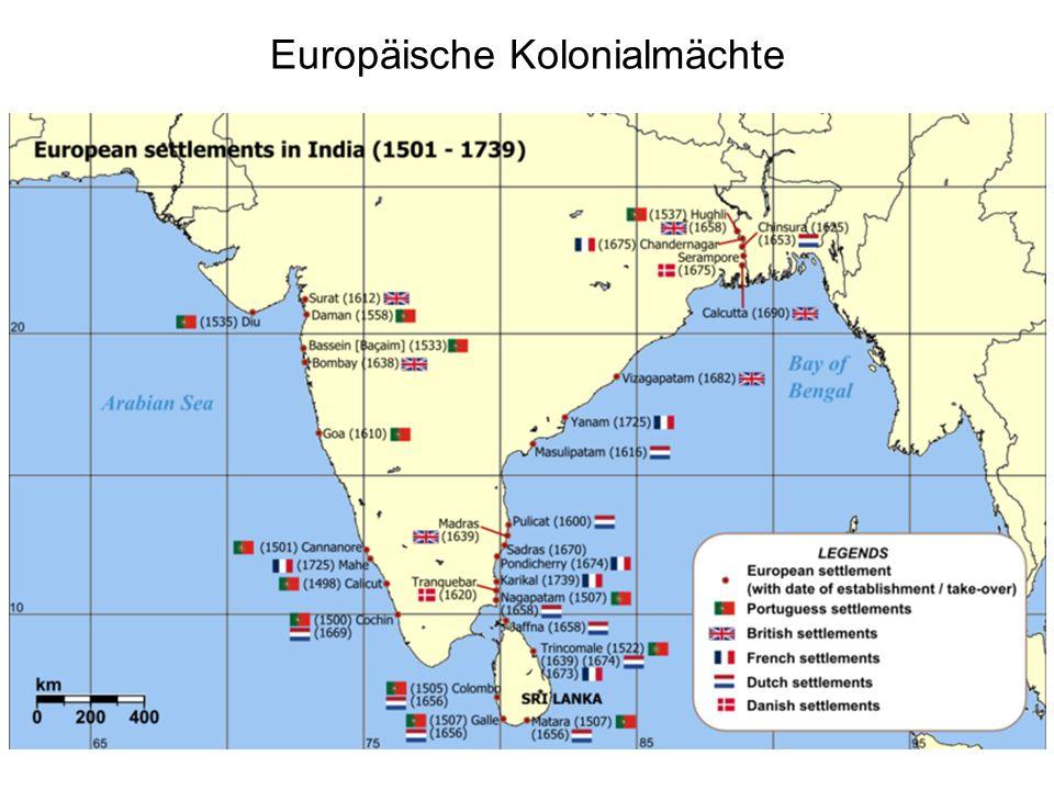 Europäische Kolonialmächte