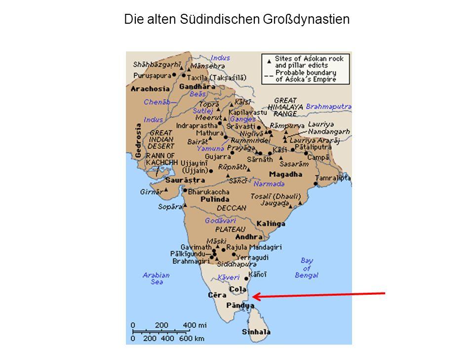Die alten Südindischen Großdynastien