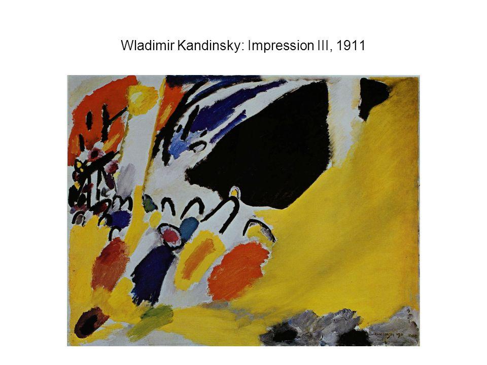 Wladimir Kandinsky: Impression III, 1911