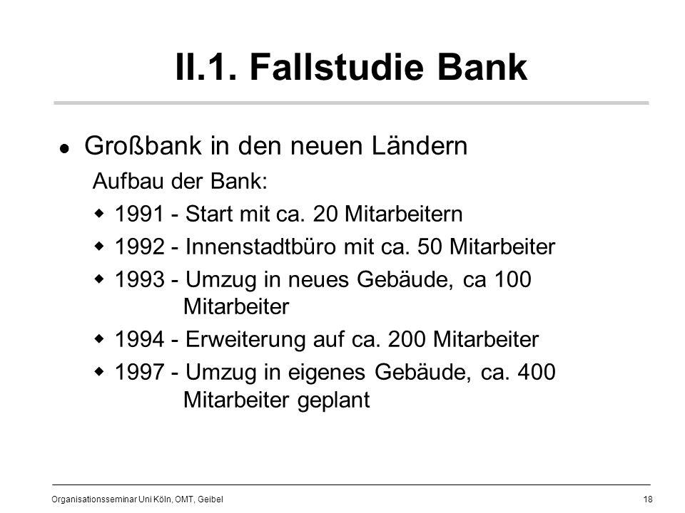 18 Organisationsseminar Uni Köln, OMT, Geibel II.1.