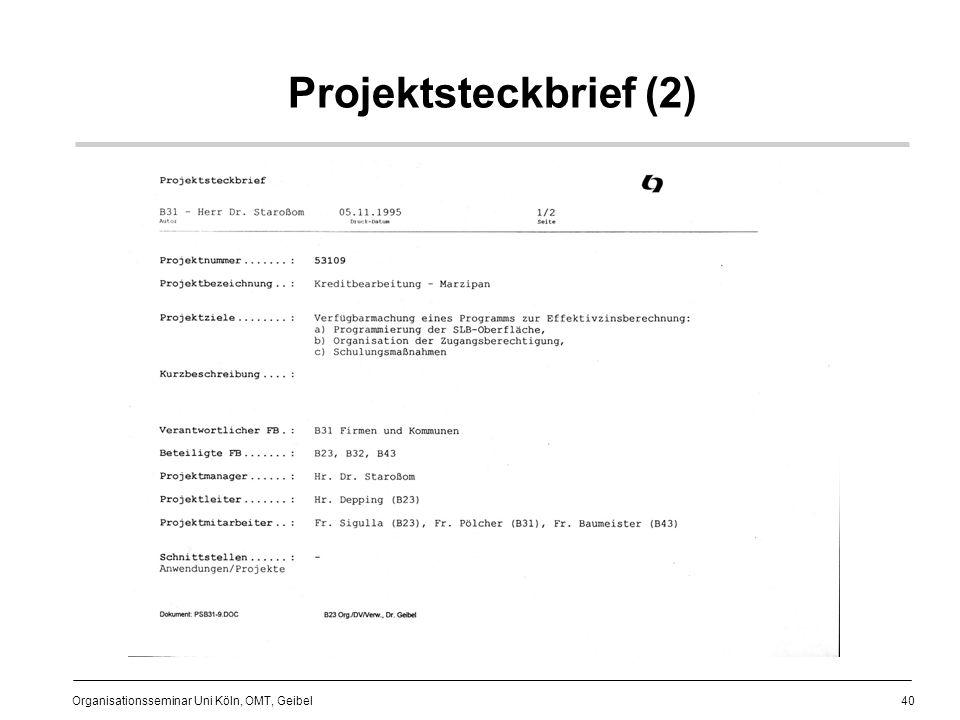 40 Organisationsseminar Uni Köln, OMT, Geibel Projektsteckbrief (2)