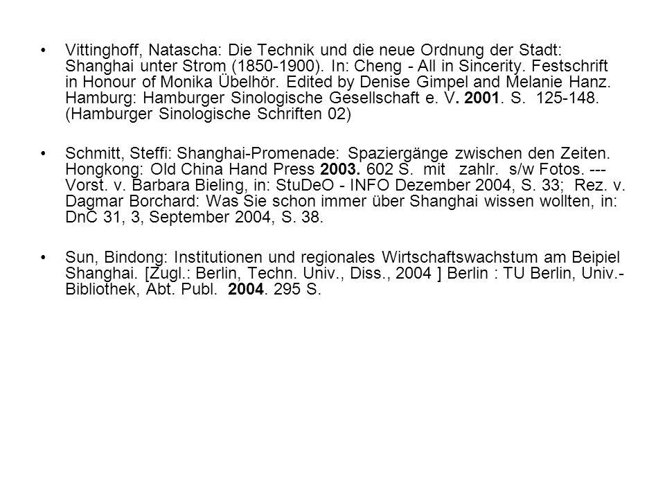 Kettelhut, Silvia: Geschäfte übernommen.Deutsches Konsulat, Shanghai.