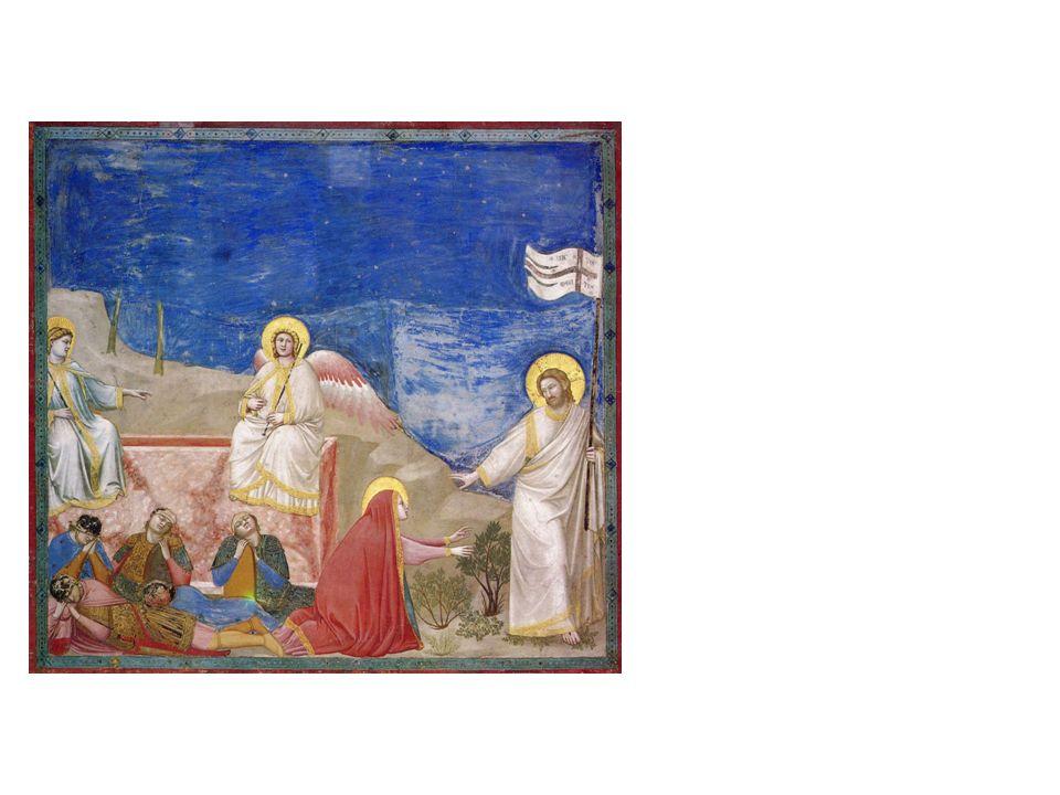 Giotto di Bondone, Die Auferstehung und Noli me tangere, um 1303/07 Padua, Arenakapelle