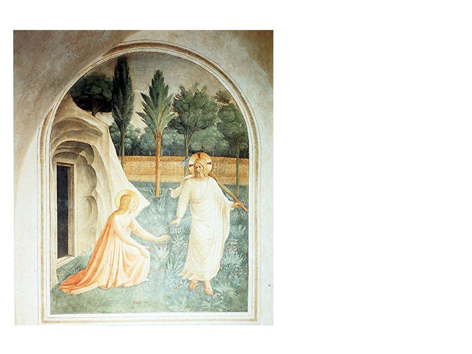 Fra Angelico, Noli me tangere, vor 1440 Florenz, Museo di San Marco