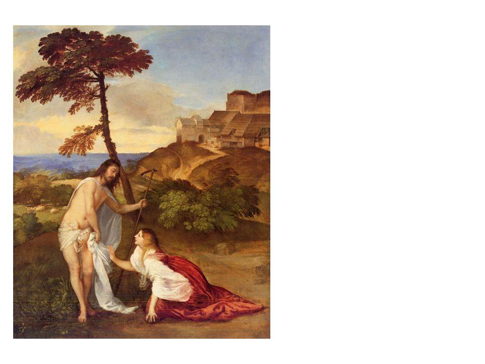 Tizian, Noli me tangere, um 1515 London, National Gallery
