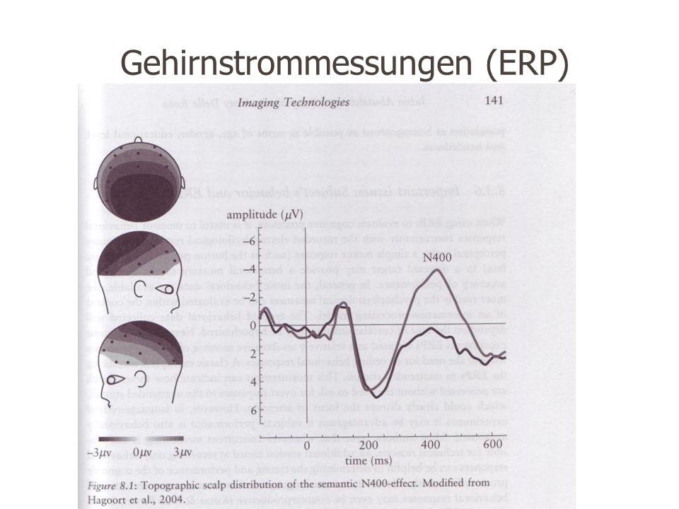 Gehirnstrommessungen (ERP)