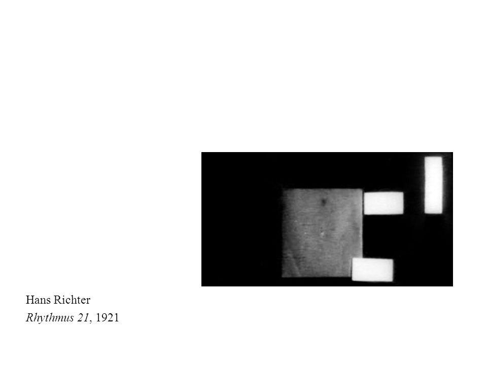 Hans Richter Rhythmus 21, 1921