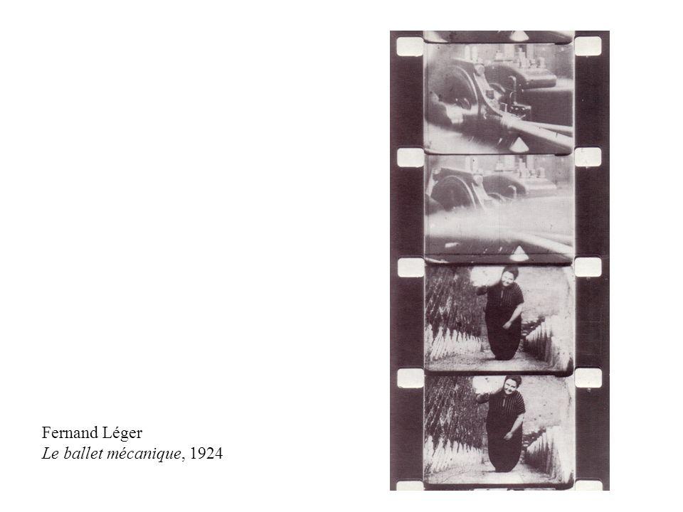 Fernand Léger Le ballet mécanique, 1924