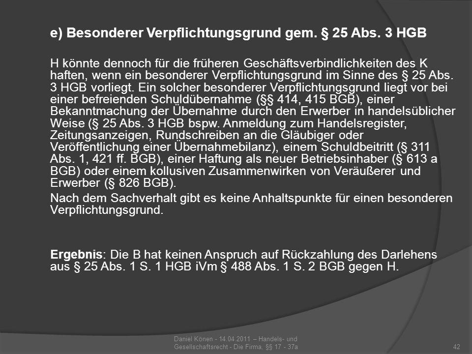 II.Anspruch der B gegen K aus § 488 Abs. 1 S.