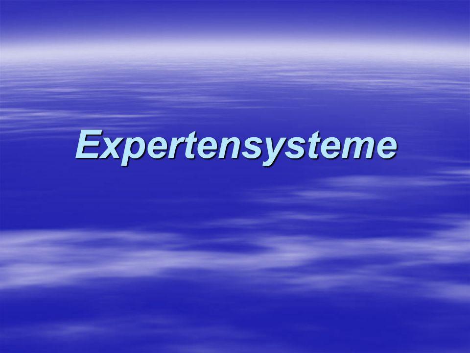 Die Eigenschaft der Transparenz eines Expertensystems gestaltet sich als äußerst wichtig, da dadurch die Kommunikationsfähigkeit zwischen System und menschlichem Benutzer und mit positivem Ausgang abhängt Die Eigenschaft der Transparenz eines Expertensystems gestaltet sich als äußerst wichtig, da dadurch die Kommunikationsfähigkeit zwischen System und menschlichem Benutzer und mit positivem Ausgang abhängt D.h.