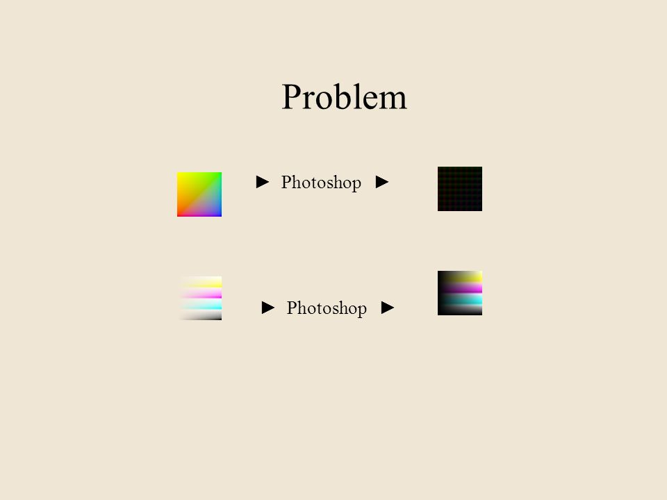 Problem Photoshop