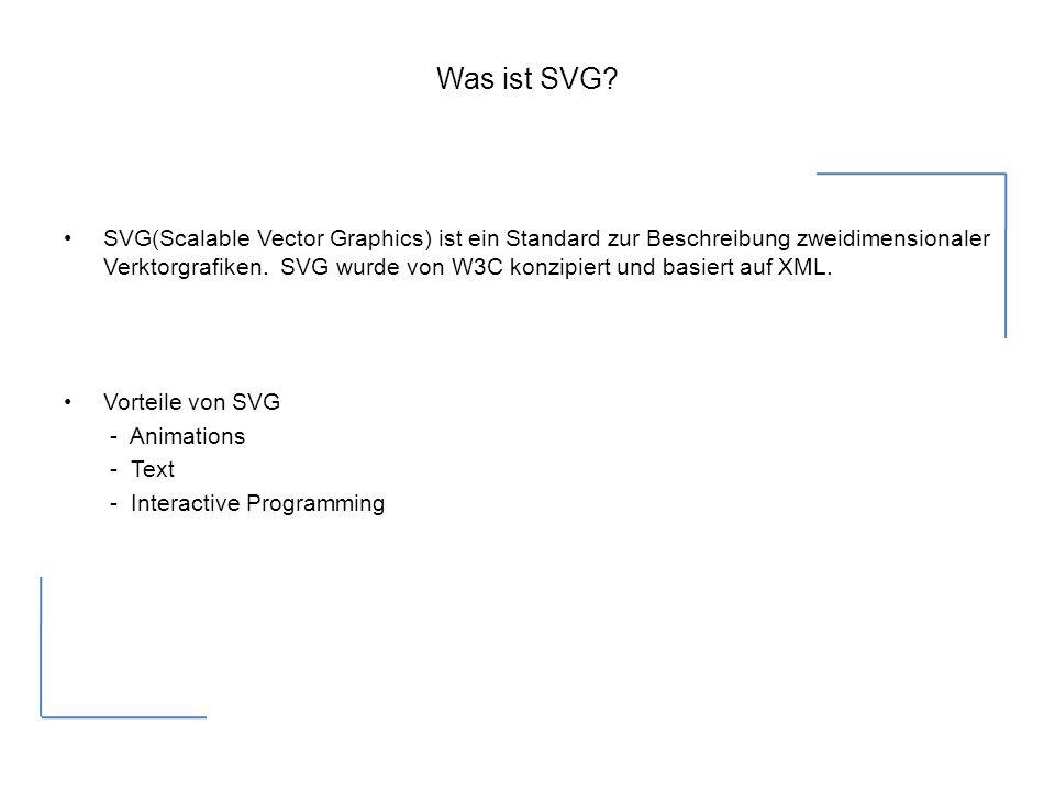 Was ist SVG.