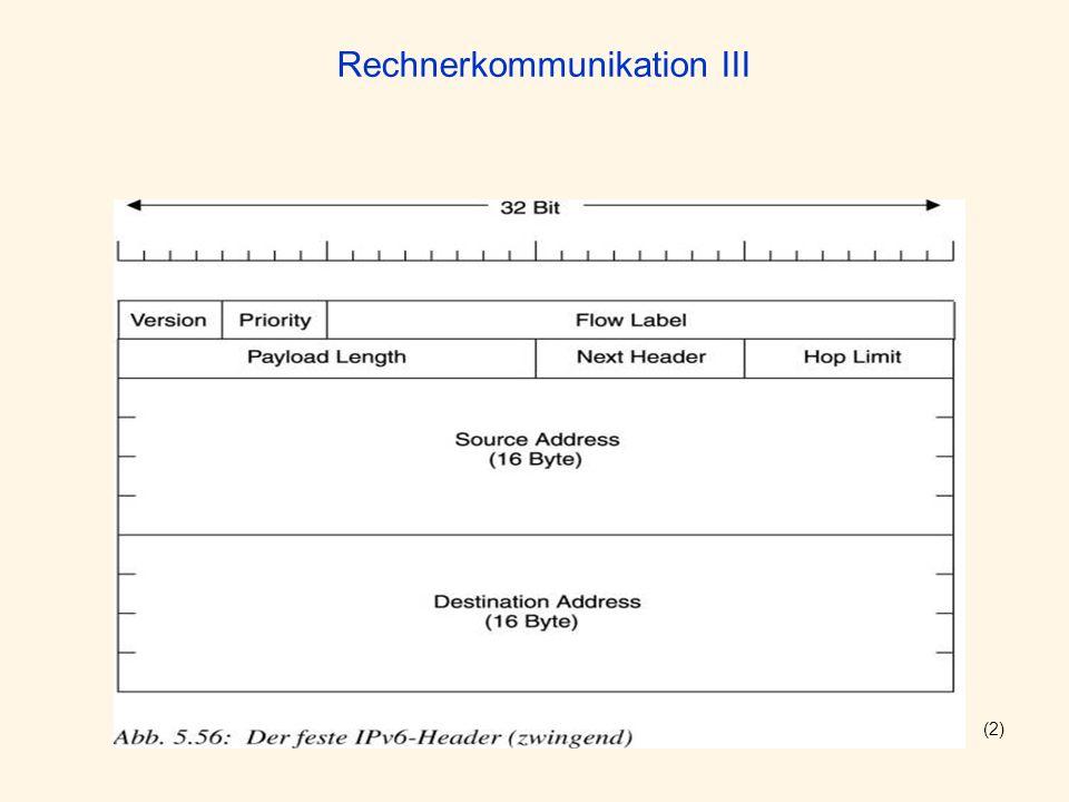 Rechnerkommunikation III (2)