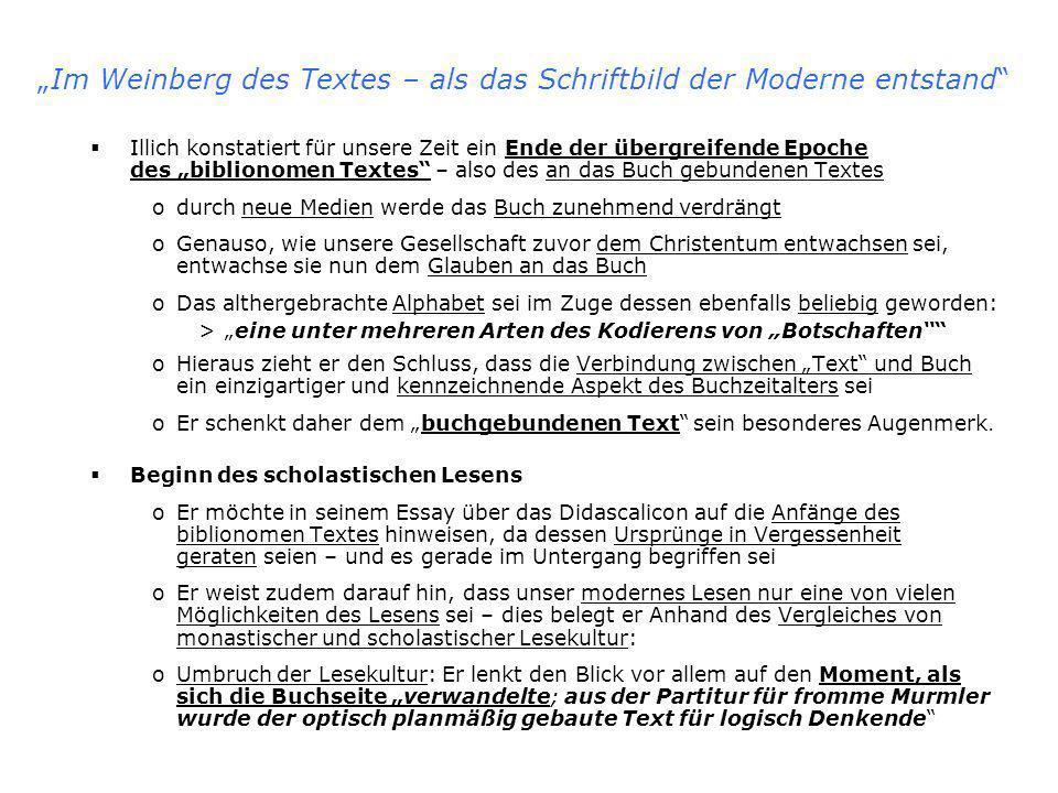 Die monastische Buchkultur – zentrale Begriffe Amicitia [lat.