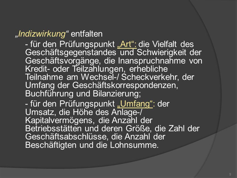 Der Scheinkaufmann 2.