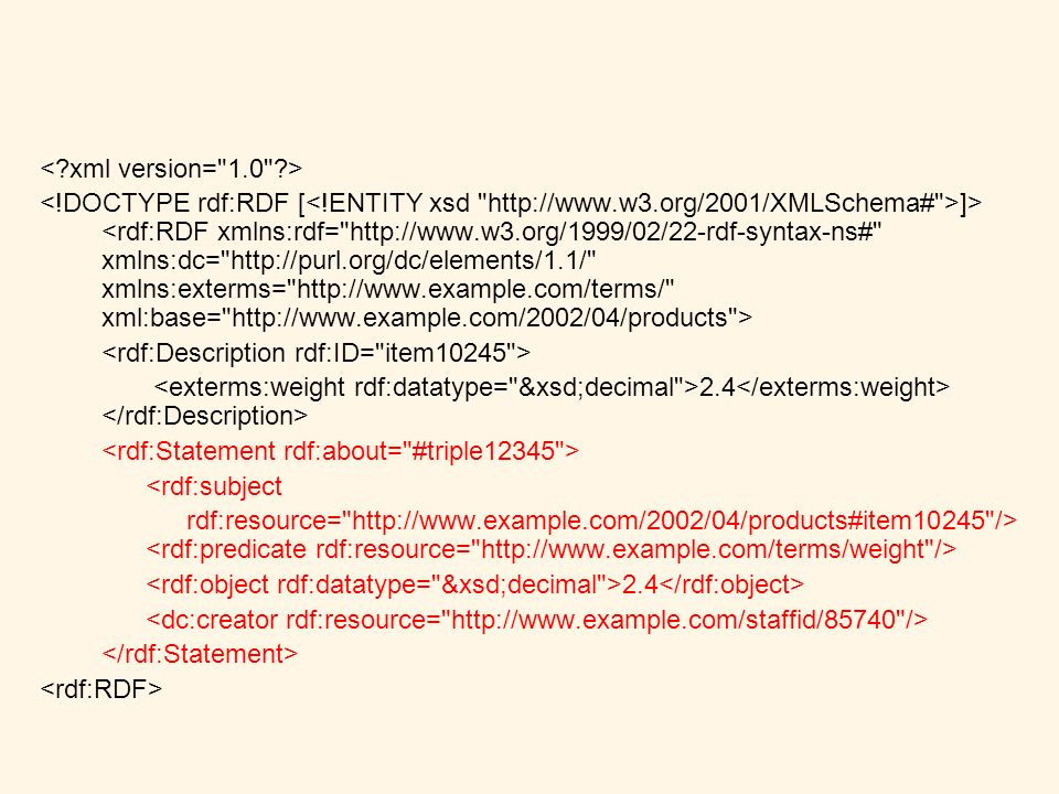]> 2.4 <rdf:subject rdf:resource=