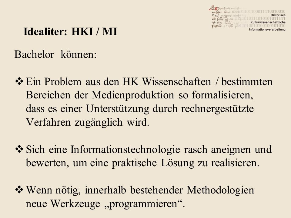 Humanities Computing vs.