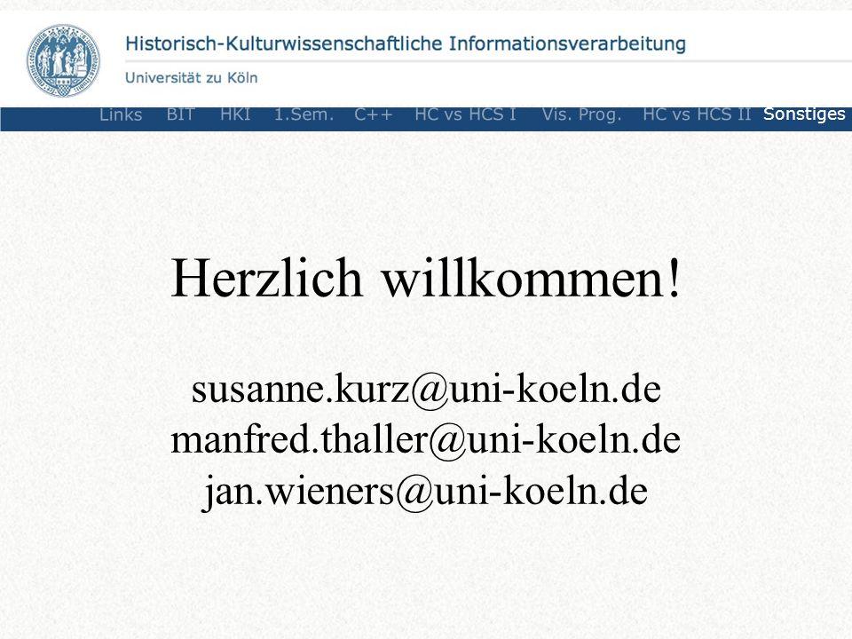 Links BITHKI1.Sem.C++HC vs HCS IVis.Prog.HC vs HCS IISonstiges Herzlich willkommen.