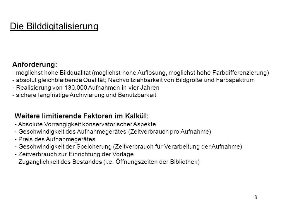 29 Vom Informationsangebot zum elektronischen Arbeitsplatz: Erweiterungen (5): Interaktive Erschließung der Handschriften Die Erschließung der Handschriften ist niemals abgeschlossen.