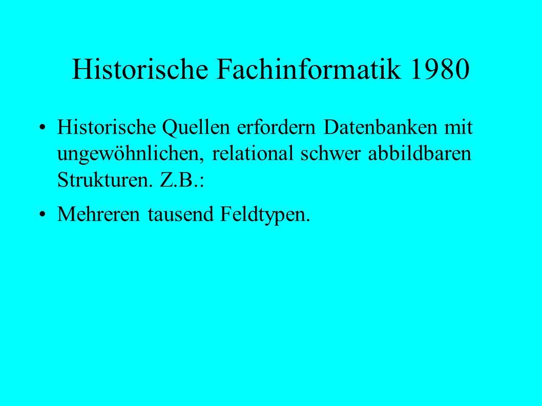 Historische Temporale Angaben O ::= t-less ( t1, t2) tertiärer Wahrheitswert (z.B.