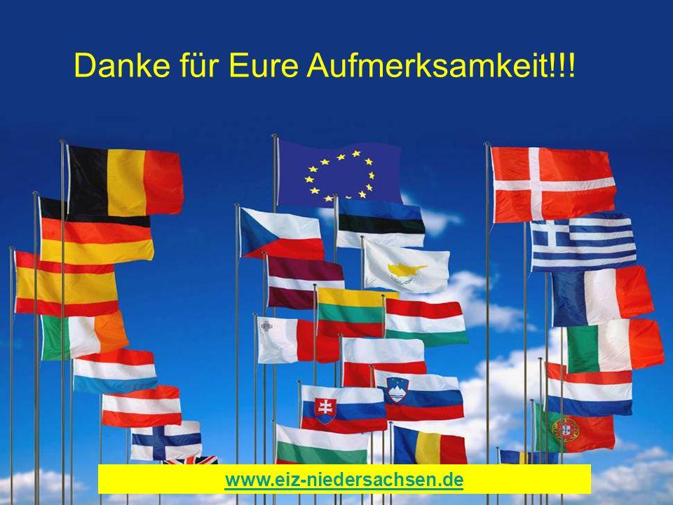 Danke für Eure Aufmerksamkeit!!! www.eiz-niedersachsen.de