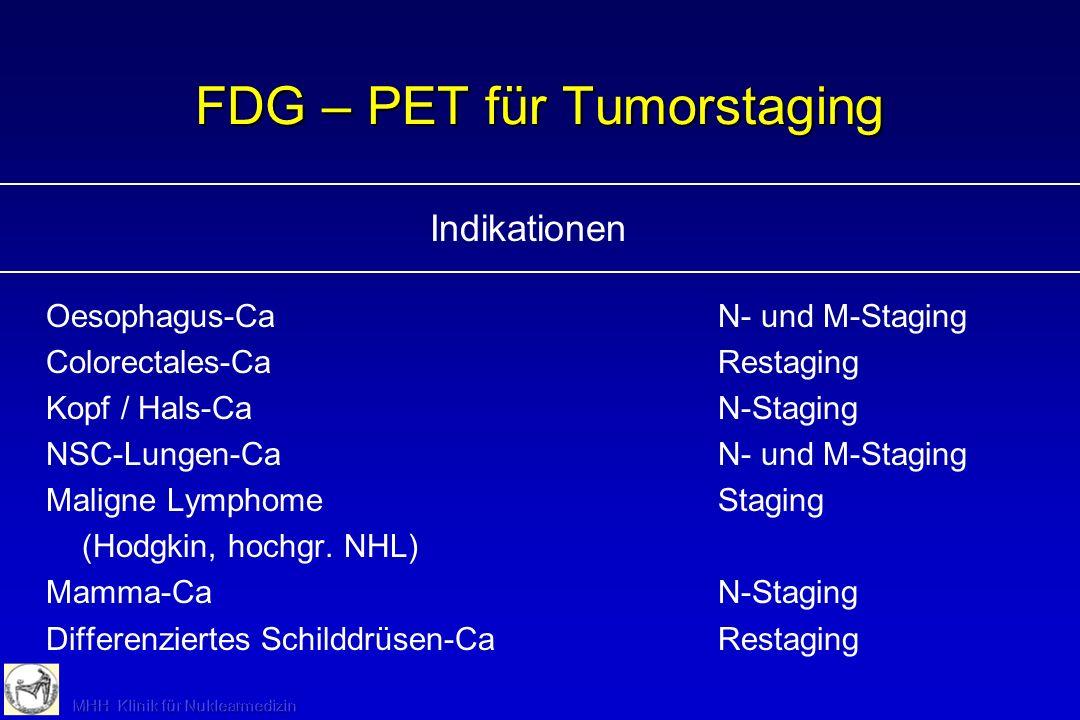 NHL mit Halslymphknotenbefall FDG-PET, fusioniert mit CT