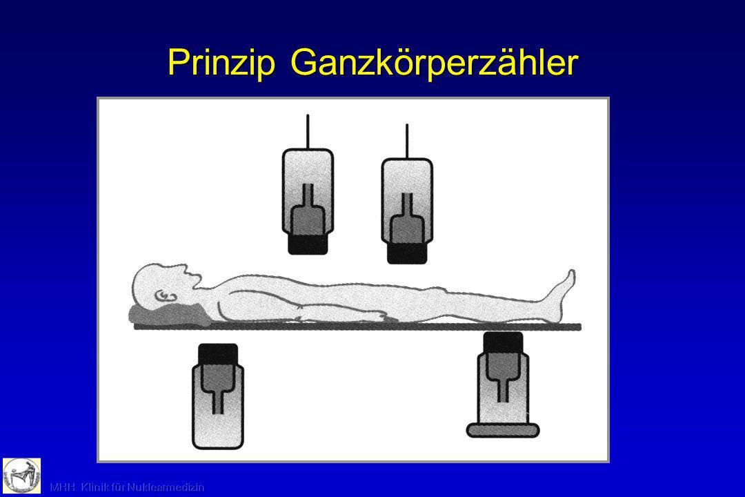 Prinzip Meßkopf Gammakamera