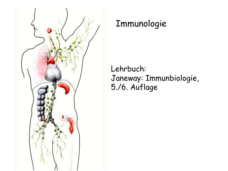 Immunologie Lehrbuch: Janeway: Immunbiologie, 5./6. Auflage