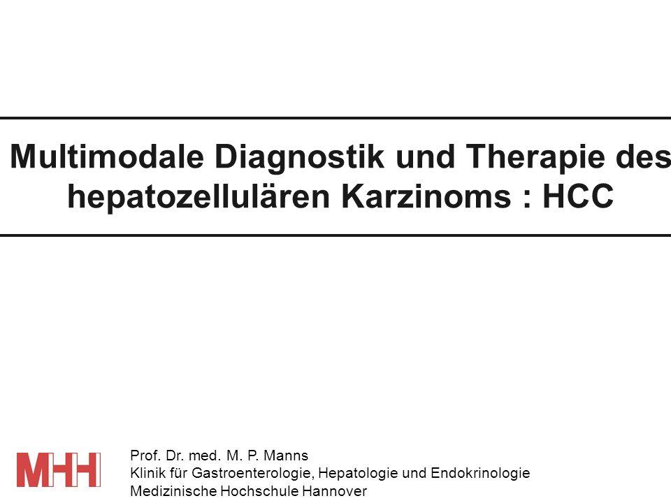 Transkutane Therapie des HCC RFA oder PEI.