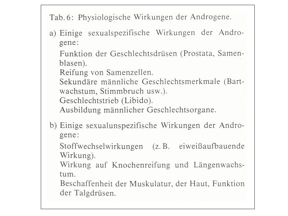 Stoffwechsel-Hormone Insulin: Sättigungshormon Insulinantagonisten: 1) Glucagon: Euglykämische Nüchtern-Blutglucoseeinstellung 2) (Verhinderung von Hypoglykämien) Adrenalin (Katecholamine): Stresshormon (akut) (Kampf- und Flucht-Situationen) 3) Hydrocortison (Glucocorticoide): Stresshormon (Anpassung an das Leben in einer gefährlichen Welt) (chronisch) 4) Thyroxin (Schilddrüsenhormone T4 + T3): Umbau (des Organismus): Wachstum und Entwicklung 5) Wachstumshormon: 6) Östradiol (Östrogene): 7) Progesteron (Gestagene): 8) Testosteron (Androgene): 9) Nandrolon (Anabolika):