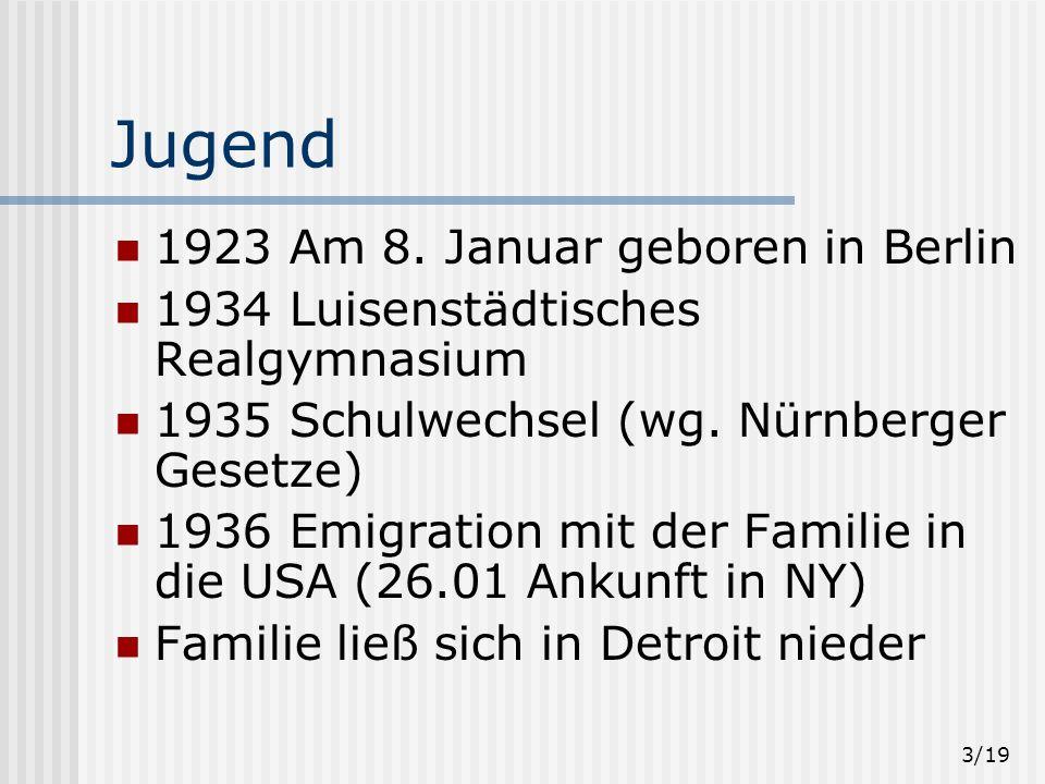 3/19 Jugend 1923 Am 8.