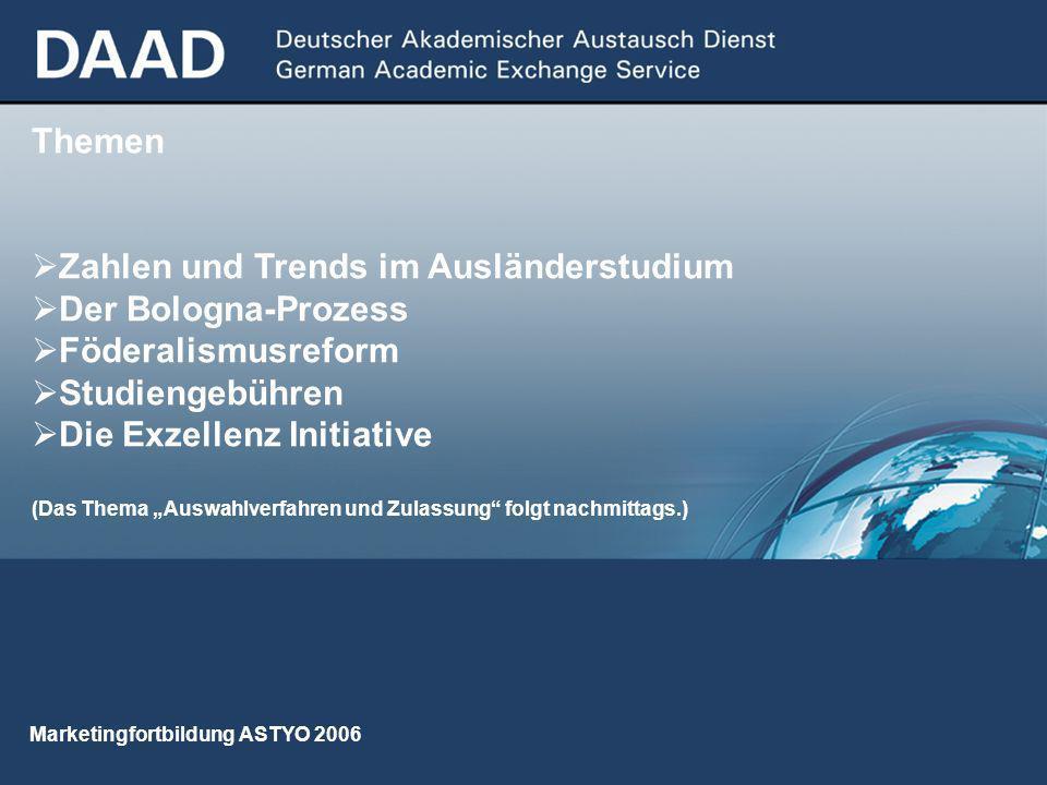 06/2006 33 Auswirkungen der Föderalismusreform (?) -Hochschulpakt 2020: Der Weg ist offen.