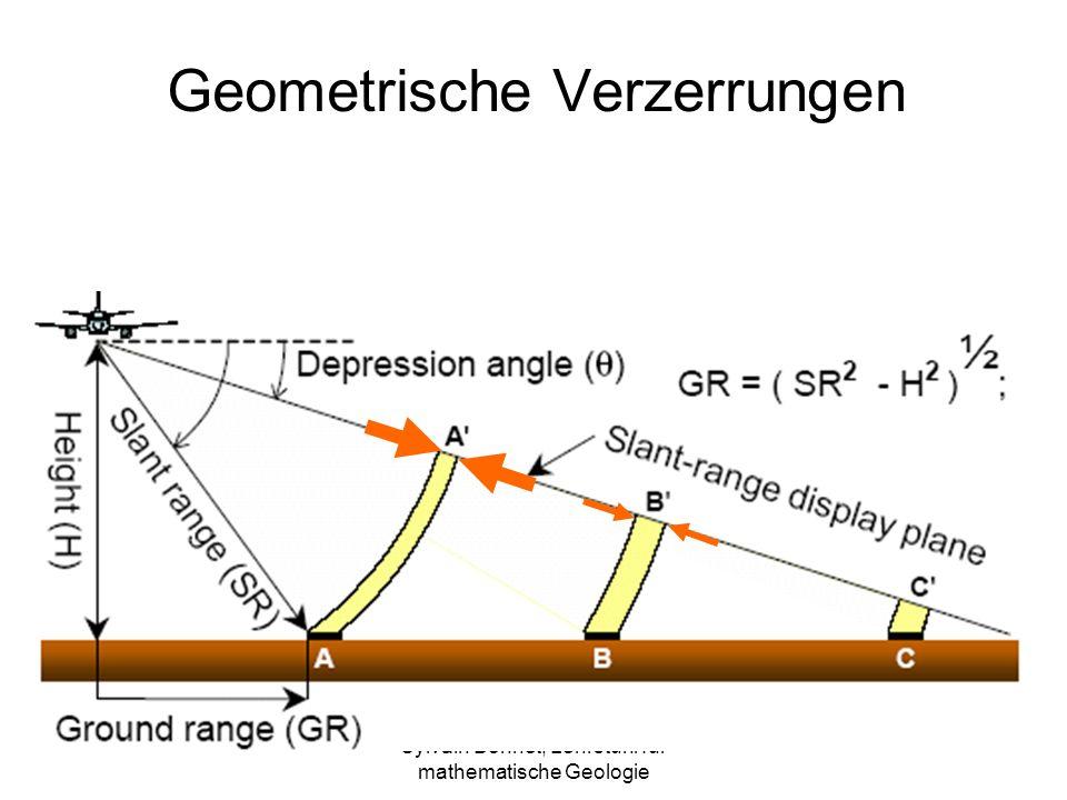 Sylvain Bonnet, Lehrstuhl für mathematische Geologie Geometrische Verzerrungen