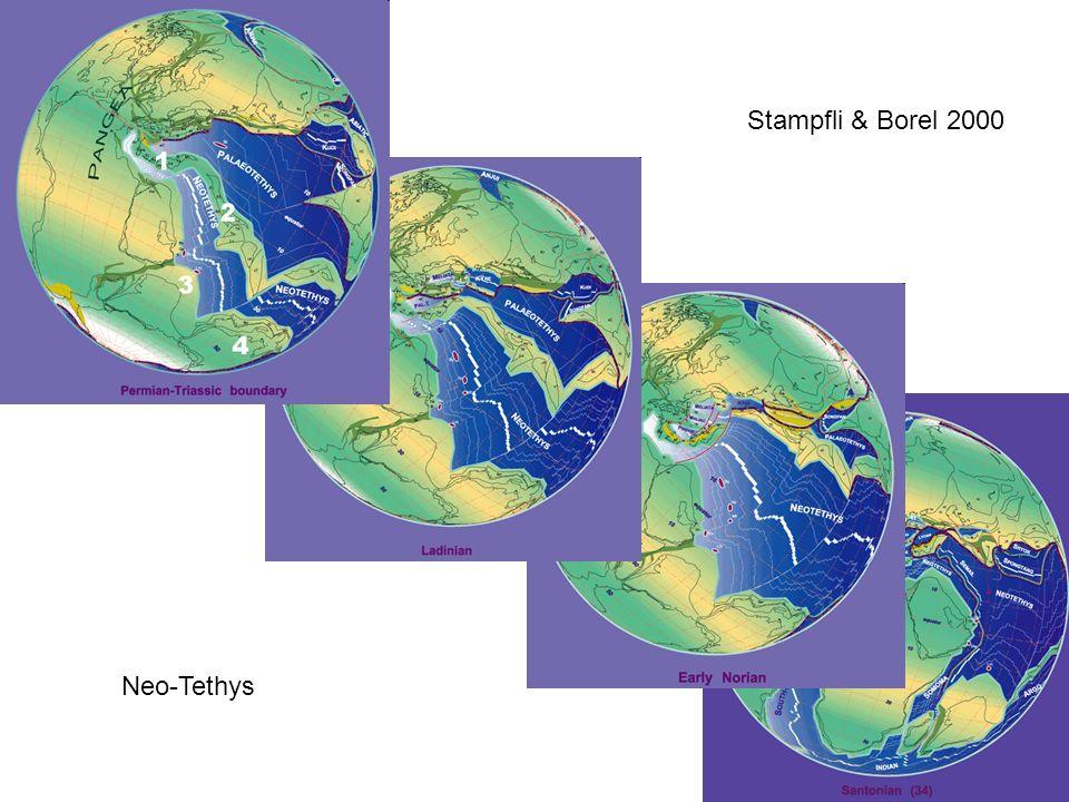 Neo-Tethys Stampfli & Borel 2000