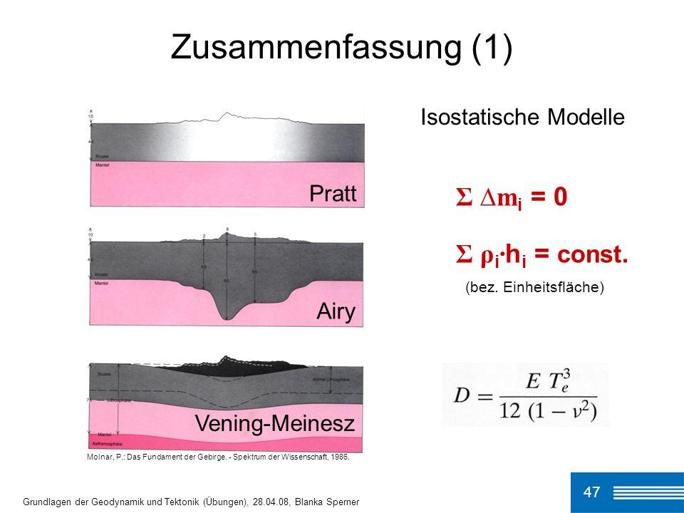 Molnar, P.: Das Fundament der Gebirge.- Spektrum der Wissenschaft, 1986.