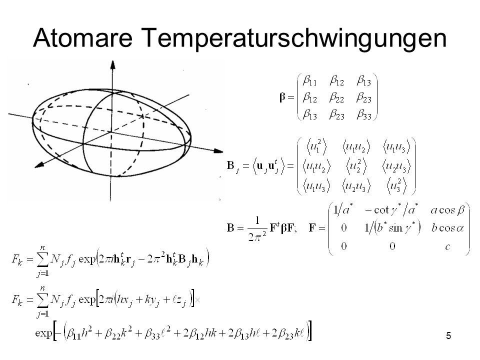5 Atomare Temperaturschwingungen
