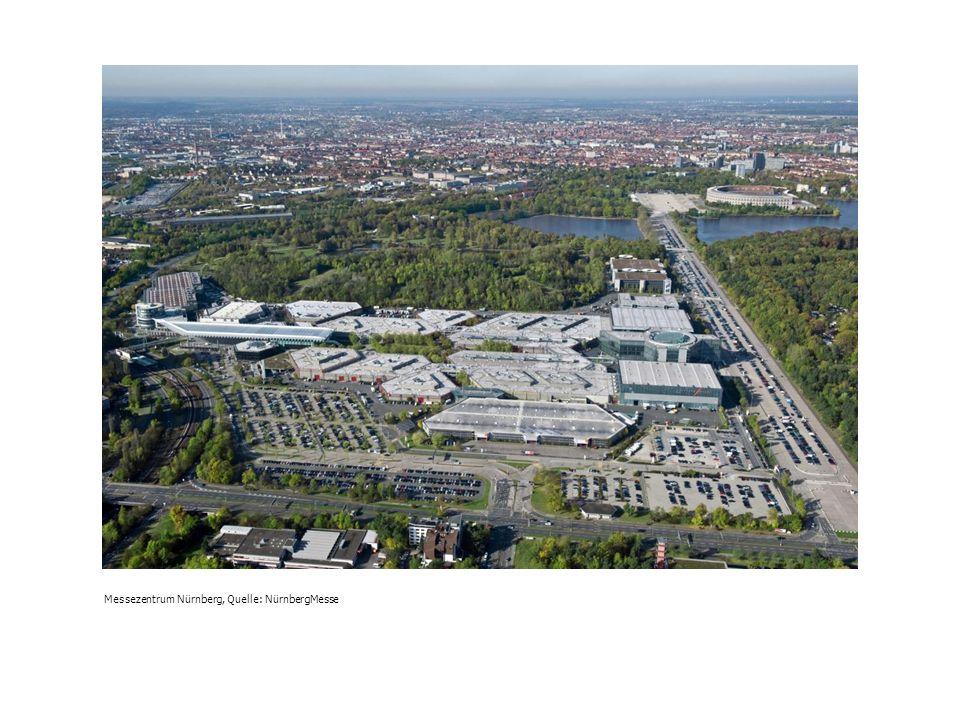 Messezentrum Nürnberg, Quelle: NürnbergMesse