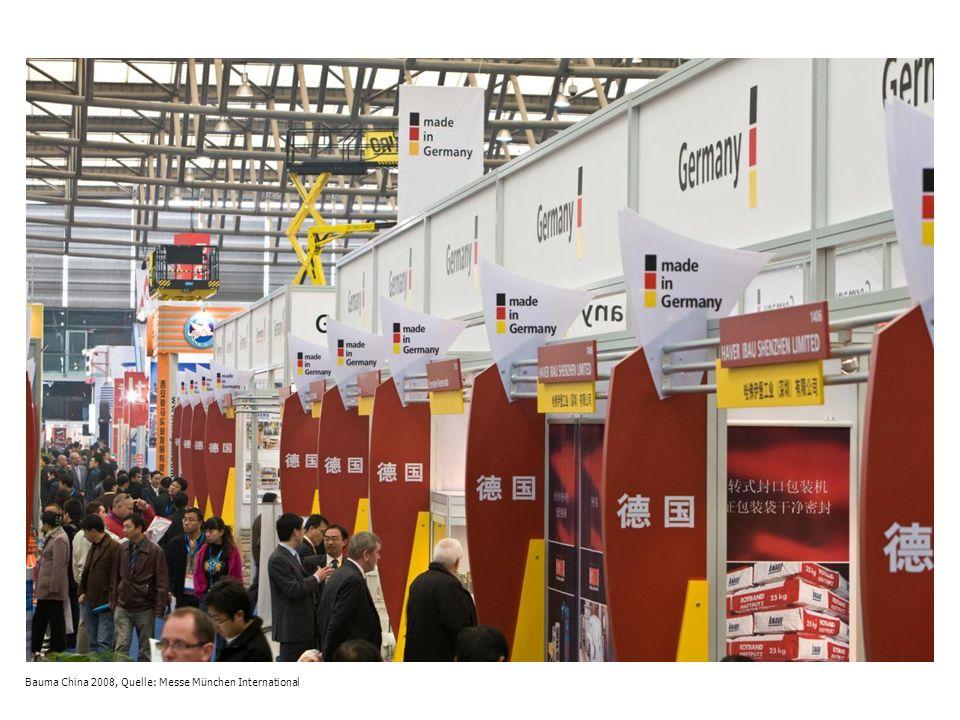 Bauma 2010, Messe München, Hallen und Freigelände, Quelle: Messe München