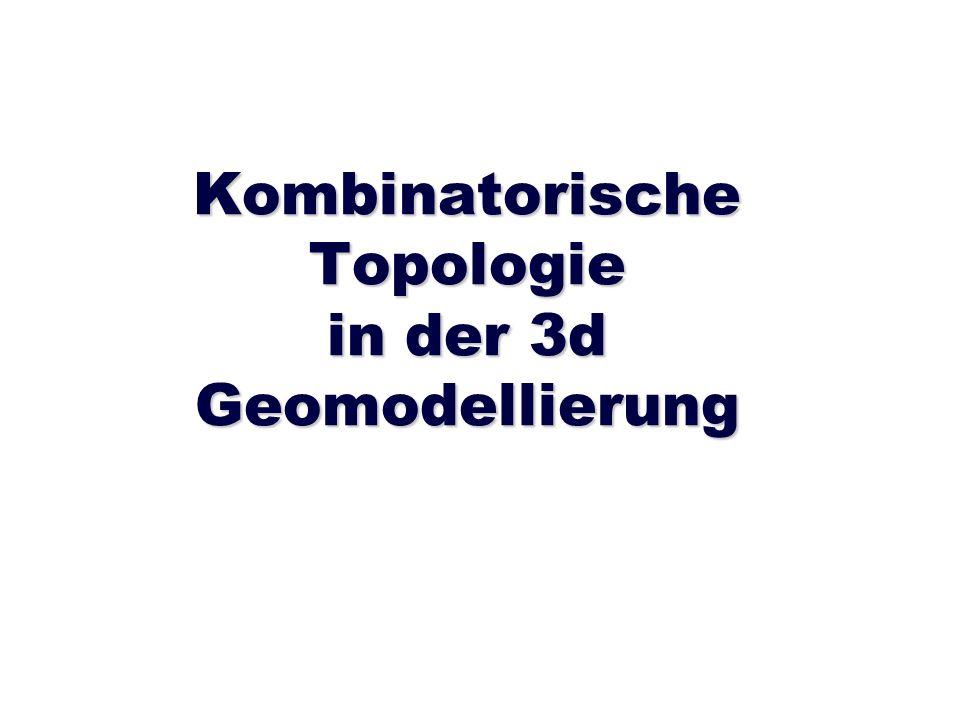 Kombinatorische Topologie in der 3d Geomodellierung