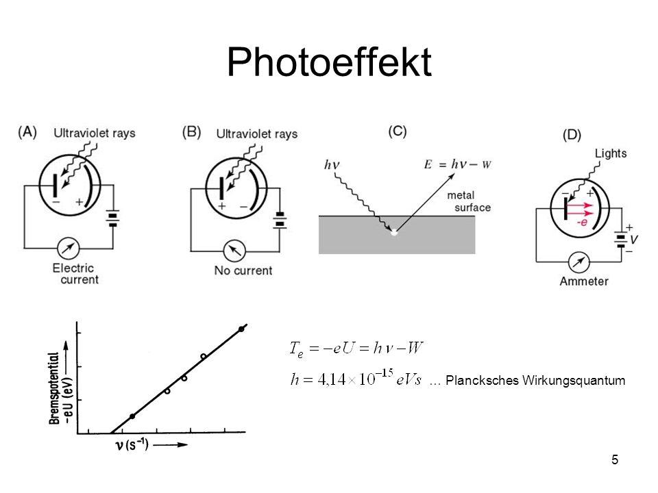 5 Photoeffekt … Plancksches Wirkungsquantum