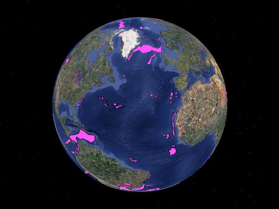 1350 km Tiefe p-Wellen s-Wellen Tomographisches Modell des Erdmantels van der Hilst et al. 1997