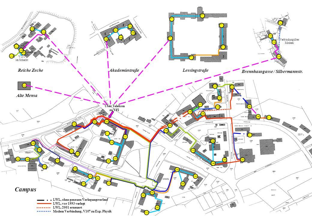 Akademiestraße Reiche Zeche Brennhausgasse / Silbermannstr.