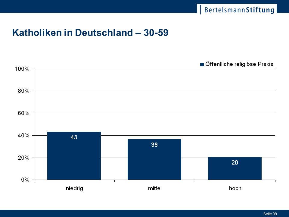 Seite 39 Katholiken in Deutschland – 30-59