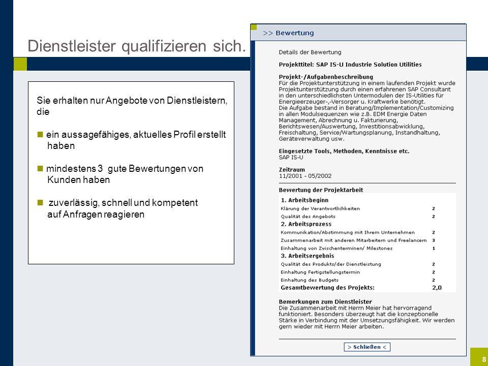 19 projektwerk Dienstleister suchen lassen projektwerk Dienstleister Kunde Direktsuche Ganz einfach.