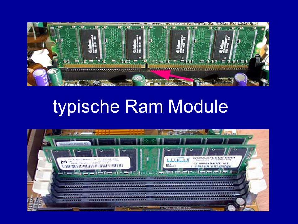 typische Ram Module