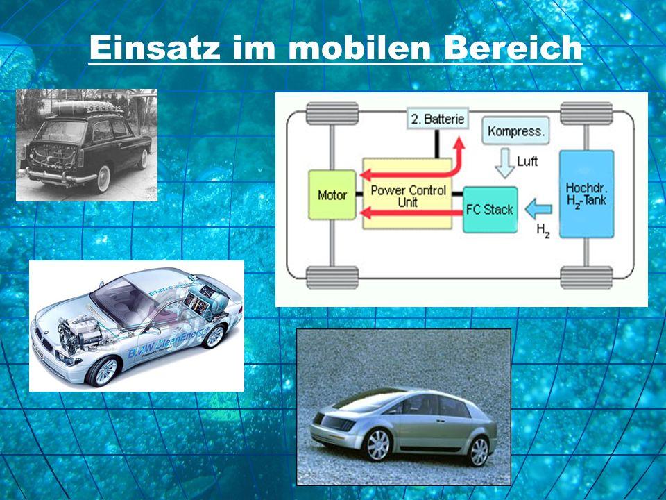 Einsatz im mobilen Bereich