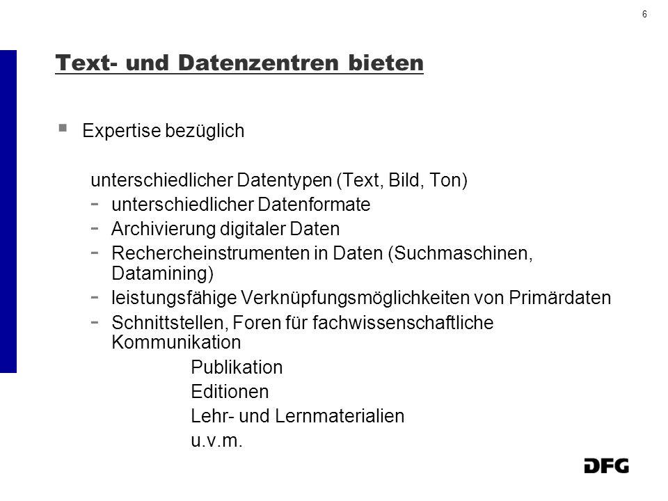 7 Gutachtersitzung am 29./ 30.03.2004 Empfehlungen zu Hauptanträgen der 1.