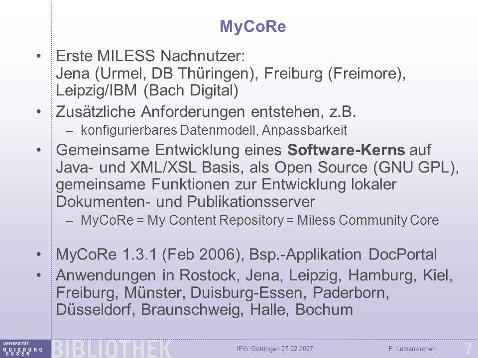 IFW Göttingen 07.02.2007F.Lützenkirchen 28 Helix Security Manager Quelle: (c) RealNetworks, Inc.