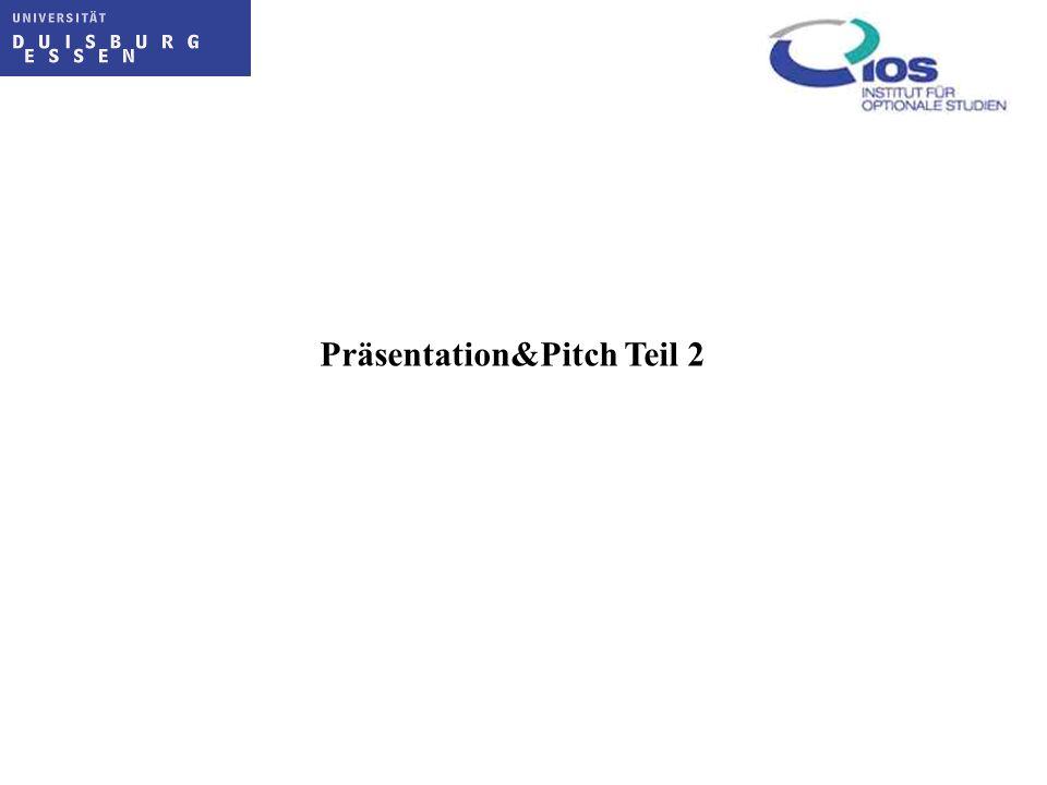 Präsentation&Pitch Teil 2